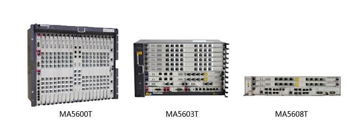 Huawei MA5600T OLT Gpon Equipment overview