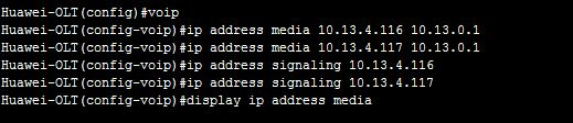Media and Signaling IP Address Pools