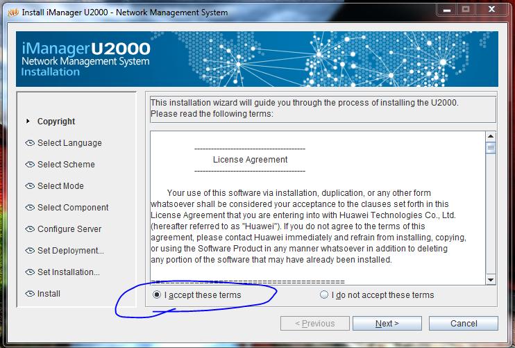 Huawei iManager U2000 NMS Setup