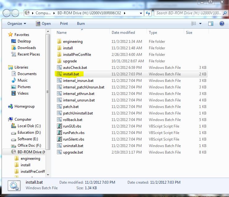 Huawei iManager U2000 NMS Setup Windows 2008
