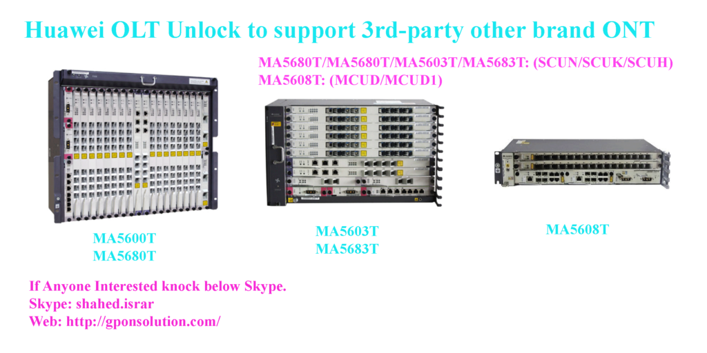 Huawei-OLT-Unlock-to-suppor-3rd-party-ONT